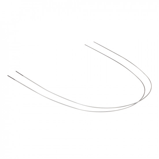 Stainless Steel White Tooth Color Coated Archwires - Round (20 wires)