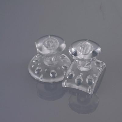 EZ Fit Clear Transparent Composite Bondable Lingual Buttons (10)