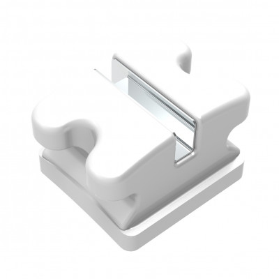 Clear Ice M Slot Polycrystalline Ceramic Brackets