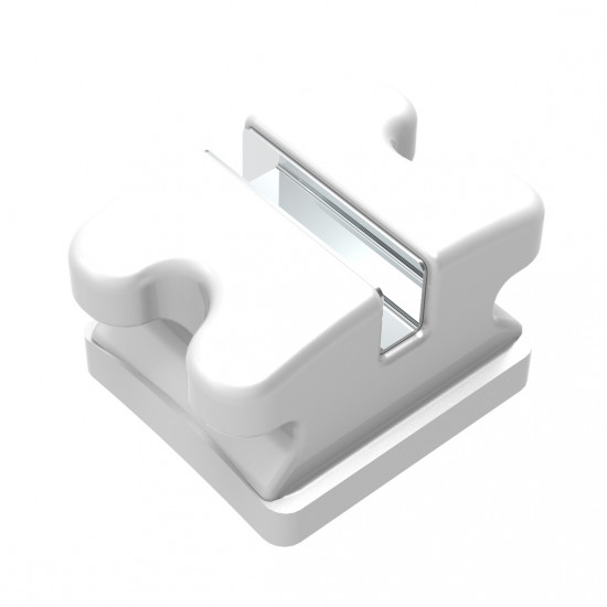 Clear Ice M Slot Polycrystalline Ceramic Brackets | Upper or Lower 5-5