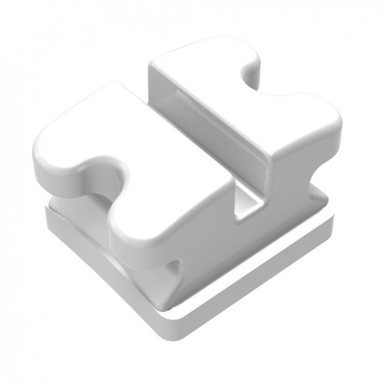 Clear Ice Polycrystalline Ceramic Brackets - Individual