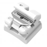 Clear Ice Self-Ligating Ceramic Brackets - Individual Bracket