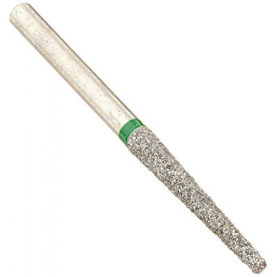 EZ/Cut Multi Use Diamond Bur Flat End Taper Long Coarse FG 848L-018C