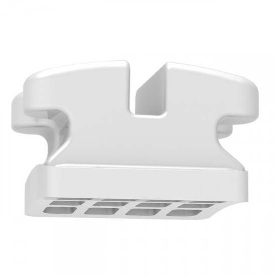 Clear Ice Polycrystalline Ceramic Brackets | Upper or Lower 5-5