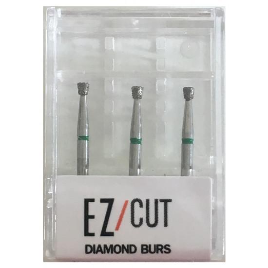 EZ/Cut Multi Use Diamond Bur Inverted Cone Coarse FG 805-014C