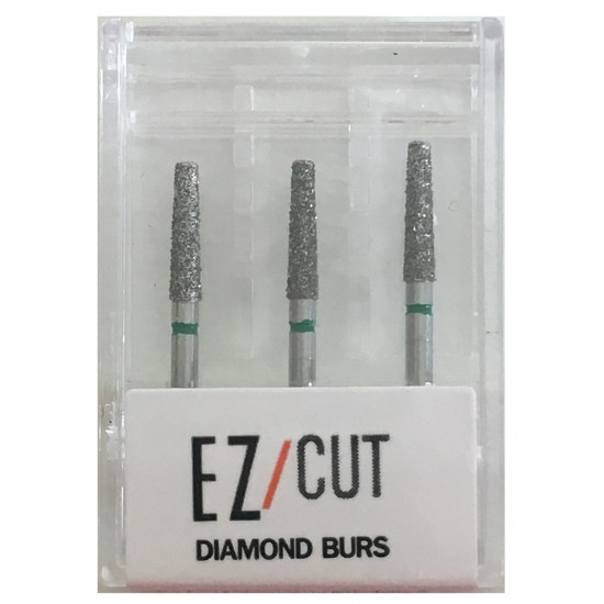 EZ/Cut Multi Use Diamond Bur Flat End Taper Coarse FG 847-018C