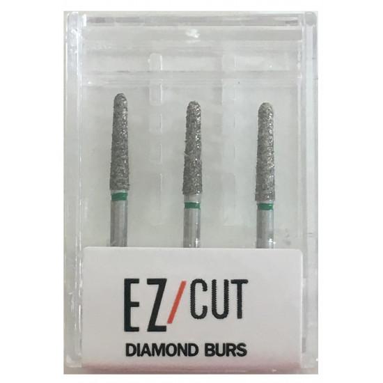EZ/Cut Multi Use Diamond Bur Round End Taper Coarse FG 856-018C