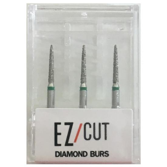 EZ/Cut Multi Use Diamond Bur Flame Coarse FG 888-012C