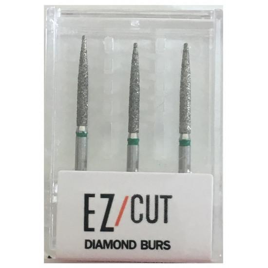 EZ/Cut Multi Use Diamond Bur Flame Coarse FG 863-014C