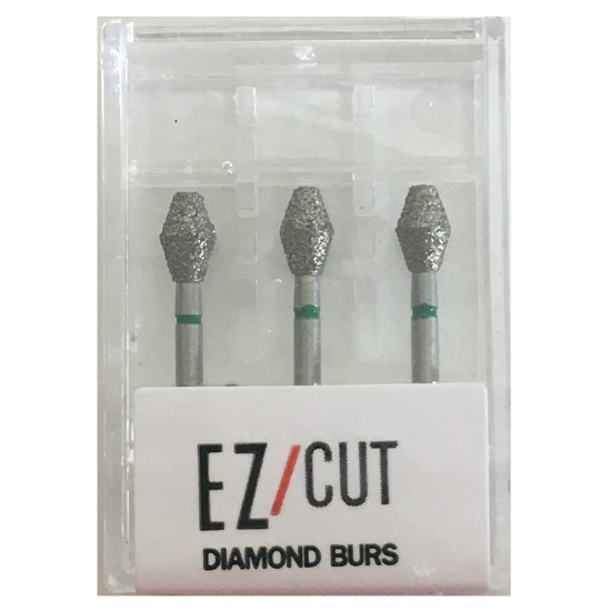 EZ/Cut Multi Use Diamond Bur Barrel Coarse FG 811-032C
