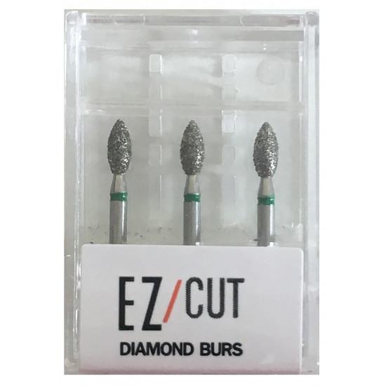 EZ/Cut Multi Use Diamond Bur Foot Ball Coarse FG 368-023C