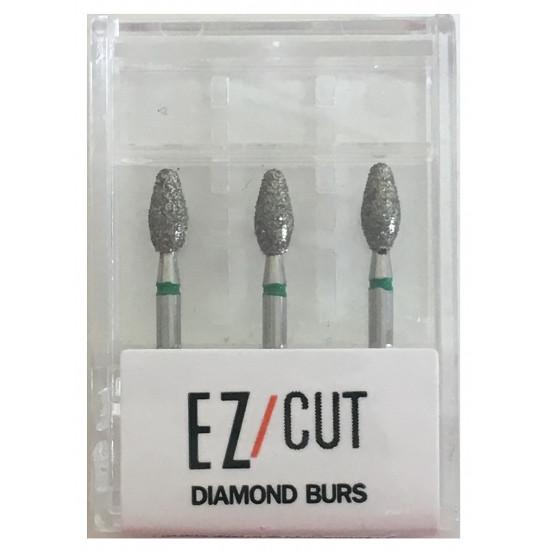 EZ/Cut Multi Use Diamond Bur Foot Ball Coarse FG 369-025C
