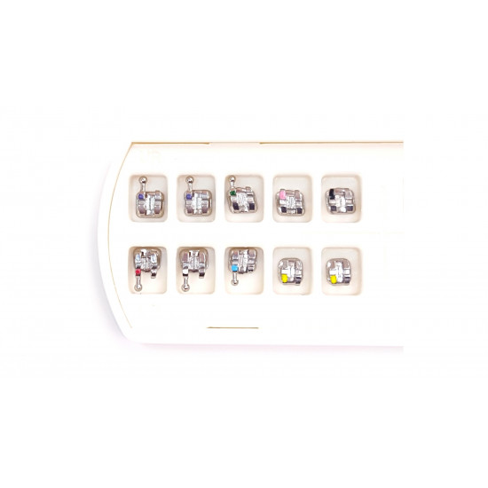 Monaco Mini Series Orthodontic Metal Brackets